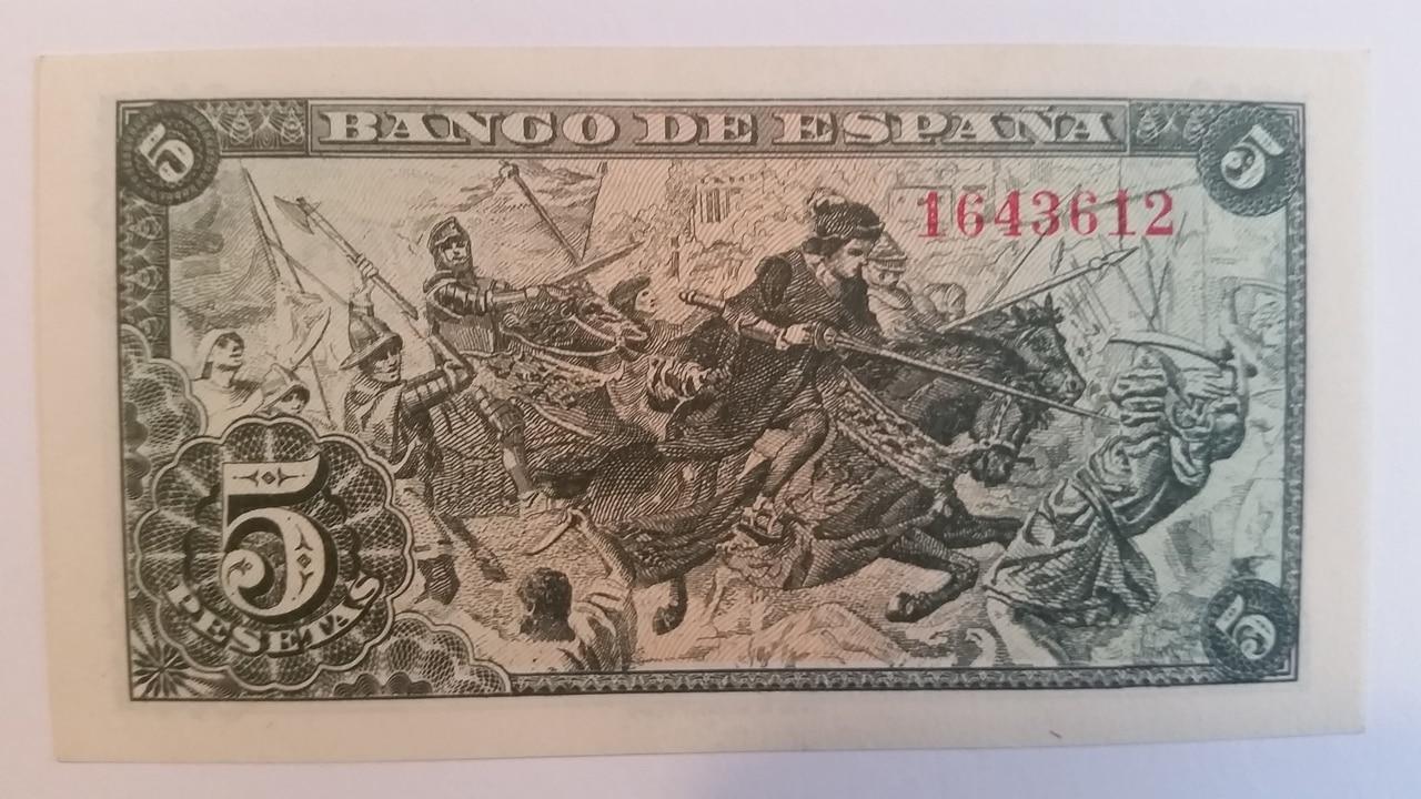 Colección de billetes españoles, sin serie o serie A de Sefcor pendientes de graduar 20161217_115501