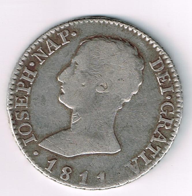 4 Reales 1811 José Bonaparte Moneda01012014_0001