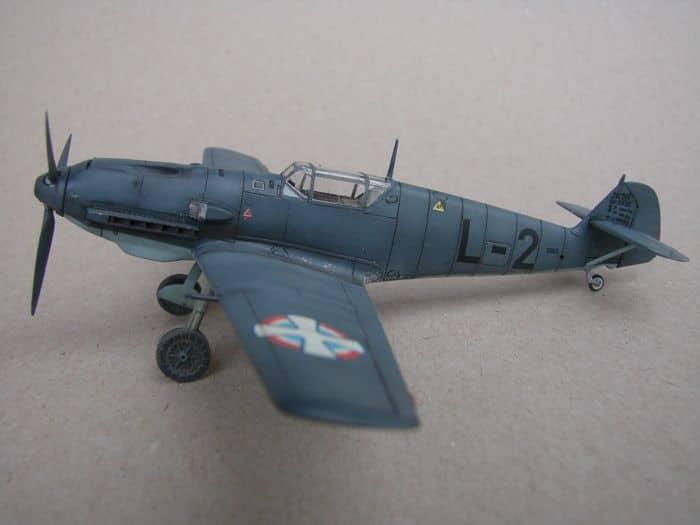 Bf-109E-3VVKJ, Tamiya, 1/72 DSC03063