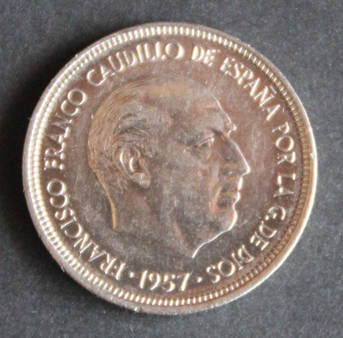 5 pesetas 1957 *74 IMG_1279