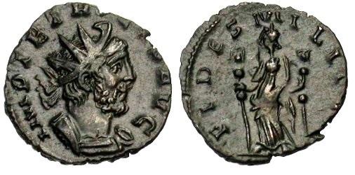 Antoniniano de Tetrico Tetrico