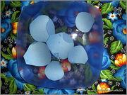Скрапбукинг. Голубой мак, карандашница или декорваза для сухоцветов. 1_DSCF1915