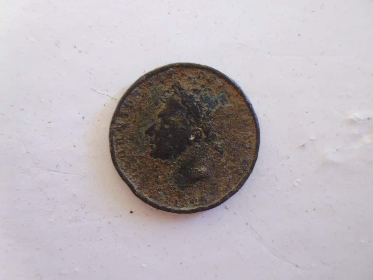 1 Farthing (1/4 Penny). Reino Unido. 1826 P1110684