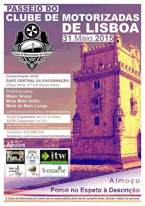 Clube de Motorizadas de Lisboa - 31 de Maio - Porco no espeto 11188455_439223986253751_8700034955856568585_n