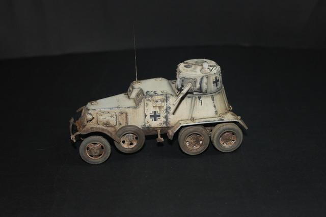 BA-10 capturado.Panzerspähwagen BA-203 (r). IMG_3335