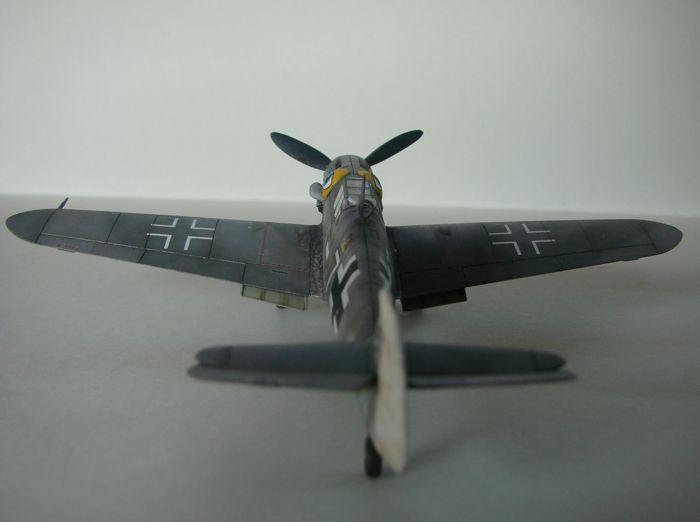 Messerschmitt Bf-109G-6, KP, 1/72 DSC03966