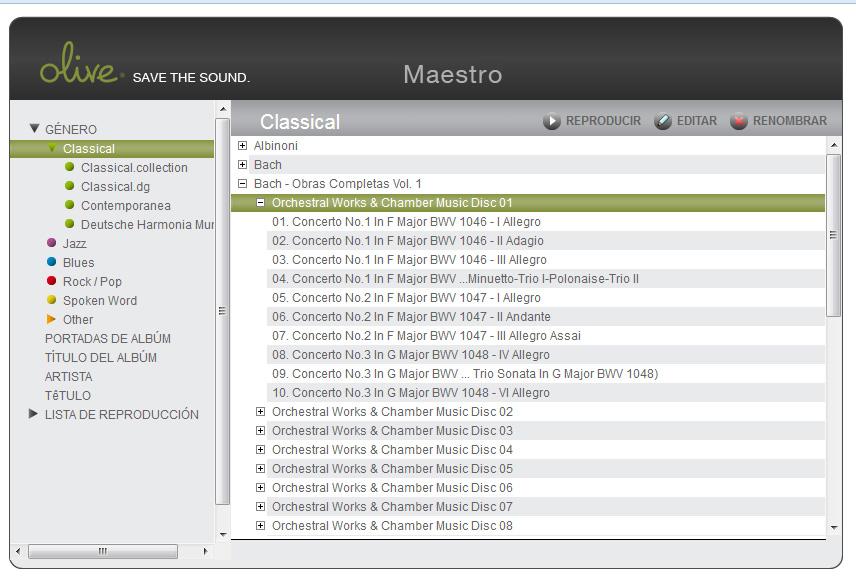 Y el mejor reproductor de audio para Linux es... - Página 2 Olive