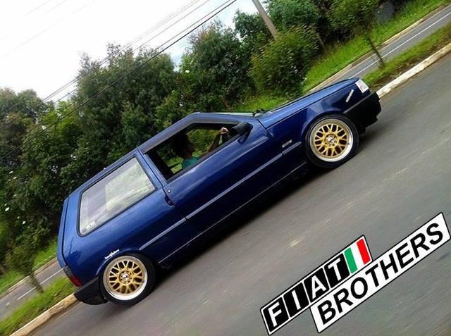 Fiat in Brasile - Pagina 5 Uno_Blu