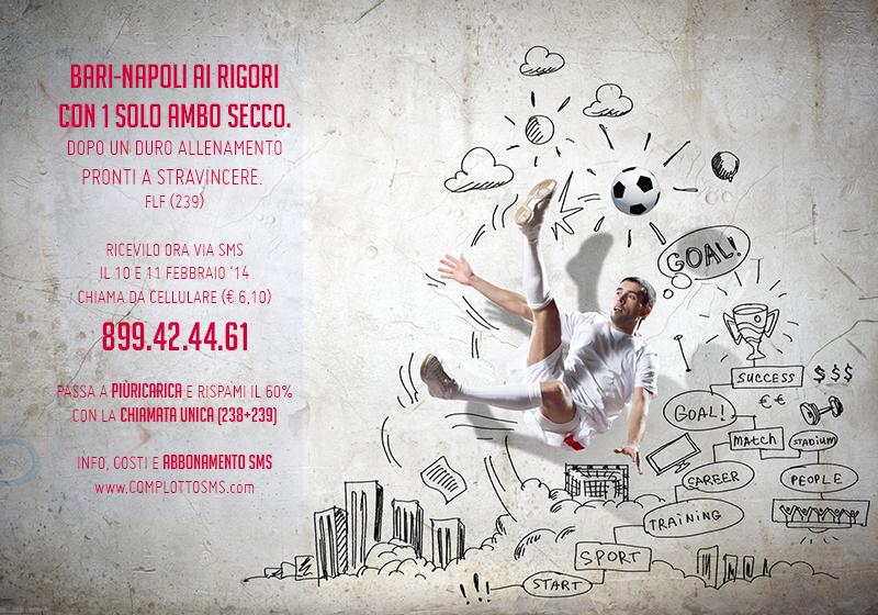 FABRIZIO 10-11/febbraio/2014: prossimo 90 in terno entro San Valentino, ambo perfetto a Bari-Napoli. Sms_239
