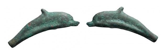 Moneda delfín de Olbia. 0225