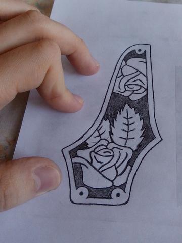 (atualizado) Pickguard em madeira esculpida - Faça você mesmo TB1