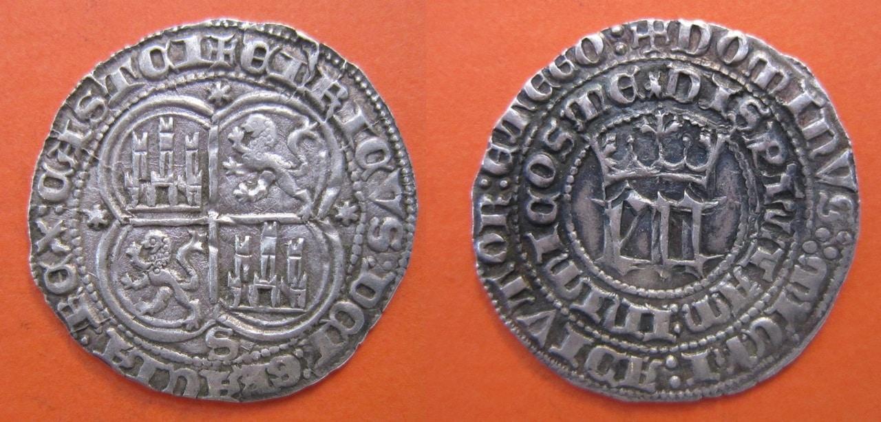 real - Real de Enrique III de Castilla 1390-1406 Sevilla. 1_real_Enrique_III_Sevilla_2