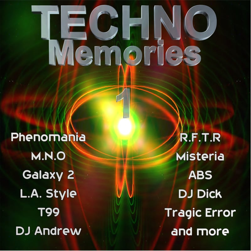 [Techno] Techno Memories 1 (Exclusive) - 2017 - FLAC Techno_Memories_Front
