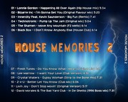 [House] House Memories 2 - CD - 2017 - FLAC (Exclusive) House_memories_2_back