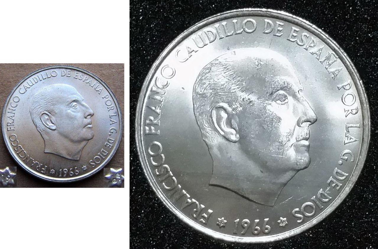 100 pesetas 1966 *19-66* Image