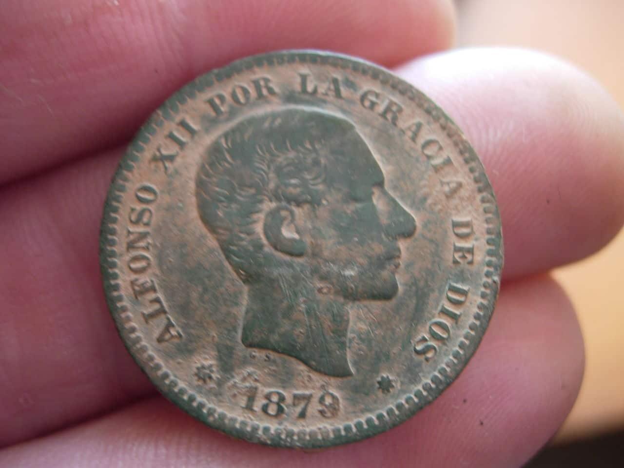 5 céntimos Alfonso XII. 1879 Imagen_029