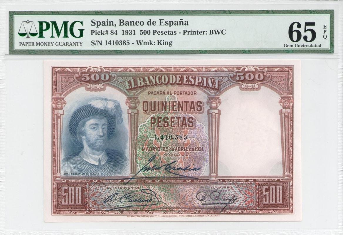 Colección de billetes españoles, sin serie o serie A de Sefcor - Página 3 500_del_31_anverso