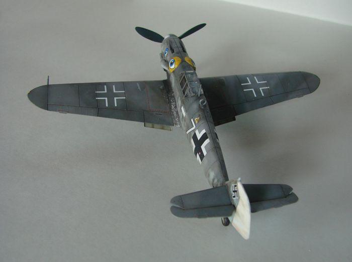 Messerschmitt Bf-109G-6, KP, 1/72 DSC03965