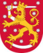 Finlandia 1 marco 1964 Coat_of_arms_of_Finland_svg