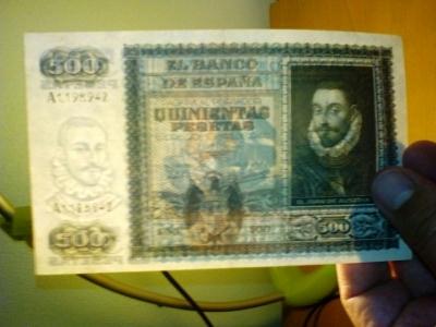 Colección de billetes españoles, sin serie o serie A de Sefcor pendientes de graduar 1476988042806_fact_1