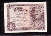 """Billetes del mundo con serie """"Ñ"""" Dama1"""