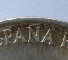 100 pesetas 1966*69 palo curvo. Image