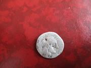 Denario Republicano. Gens Papiria. Júpiter en cuadriga. IMG_0974