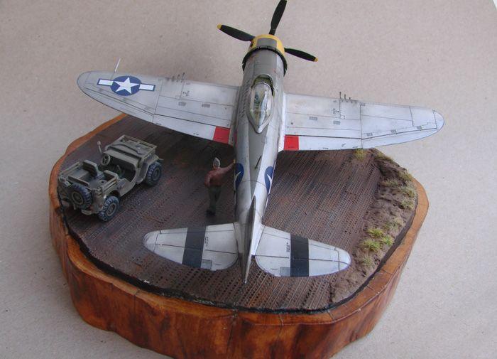 P-47D-30RE Thunderbolt, Revell, 1/72 DSC03178