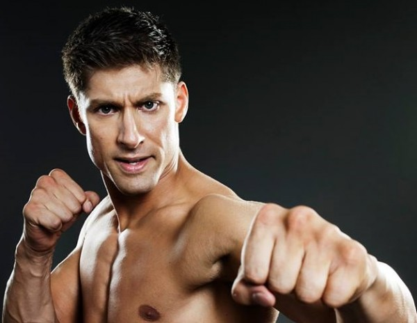Alain Moussi Kickboxer