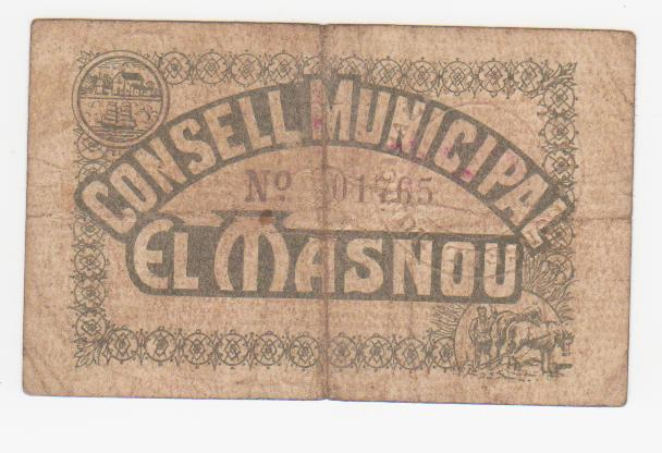 25 Céntimos El Masnou, 1937 0_25_pta_el_masnou_001
