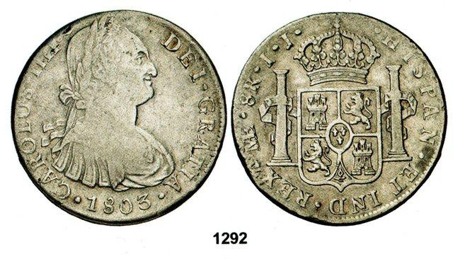 8  reales 1800 Carlos IV potosi - PP 8_reales