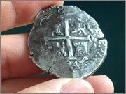 8 reales Carlos II, 1694, Lima IMG_1890