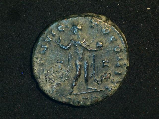 AE3 de Constantino I Magno. SOLI INVIC-TO COMITI. Sol radiado, estante a dcha. y mirando a  izq. Ceca Trier. 2016_12_16_0002_0_X