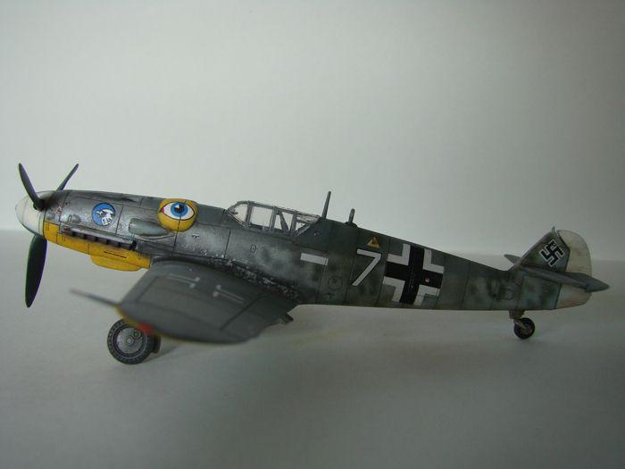 Messerschmitt Bf-109G-6, KP, 1/72 DSC03962