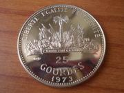 25 Gourdes 1973 Haití  DSCN0969