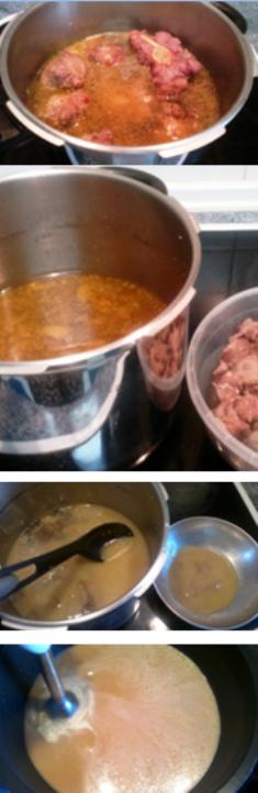 Rabo de toro (o de ternera) en salsa Ra6