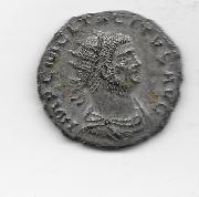 Antoniniano de Tácito I. CLEMENTIA TEMP. Tácito y Júpiter. Ceca Antioch.  Esc_ner_20170822_3
