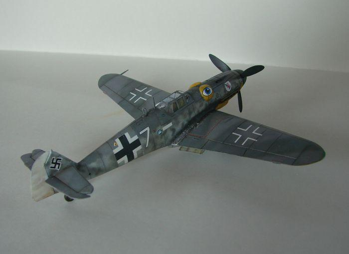 Messerschmitt Bf-109G-6, KP, 1/72 DSC03964