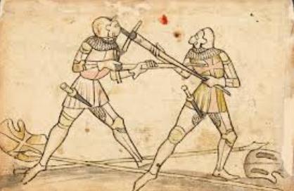 Medieval Soldier's armarments Murderblow