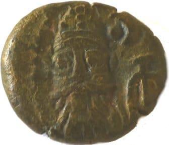 Æ Dracma. Orodes II. Reino Elymaida. 150-200 d.C. 218