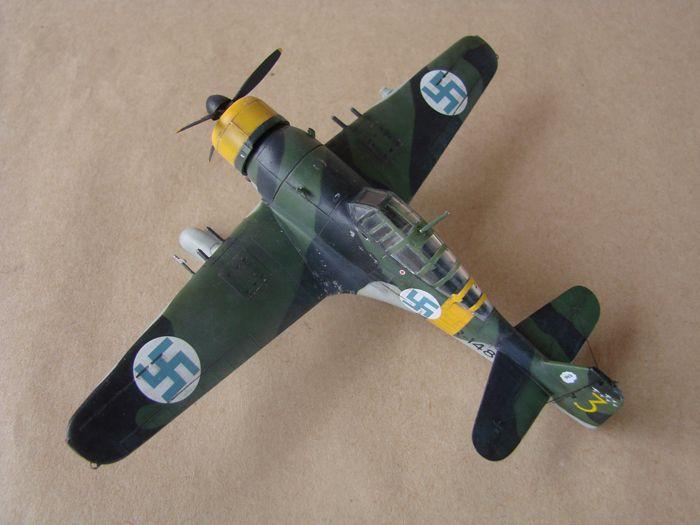 Finski Fokkeri D.XXI, Special Hobby, 1/72 DSC01486