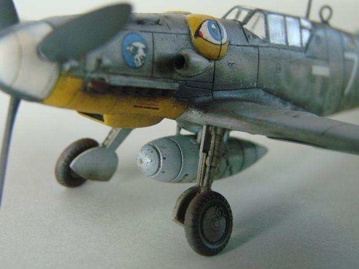 Messerschmitt Bf-109G-6, KP, 1/72 DSC03970