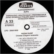 Hasan Dudic -Diskografija 1993_z_a