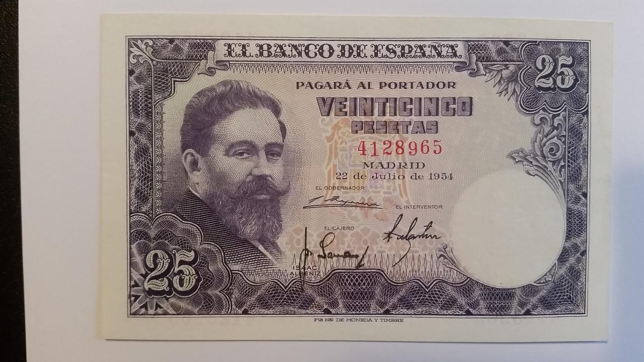 Colección de billetes españoles, sin serie o serie A de Sefcor pendientes de graduar 20161217_123017