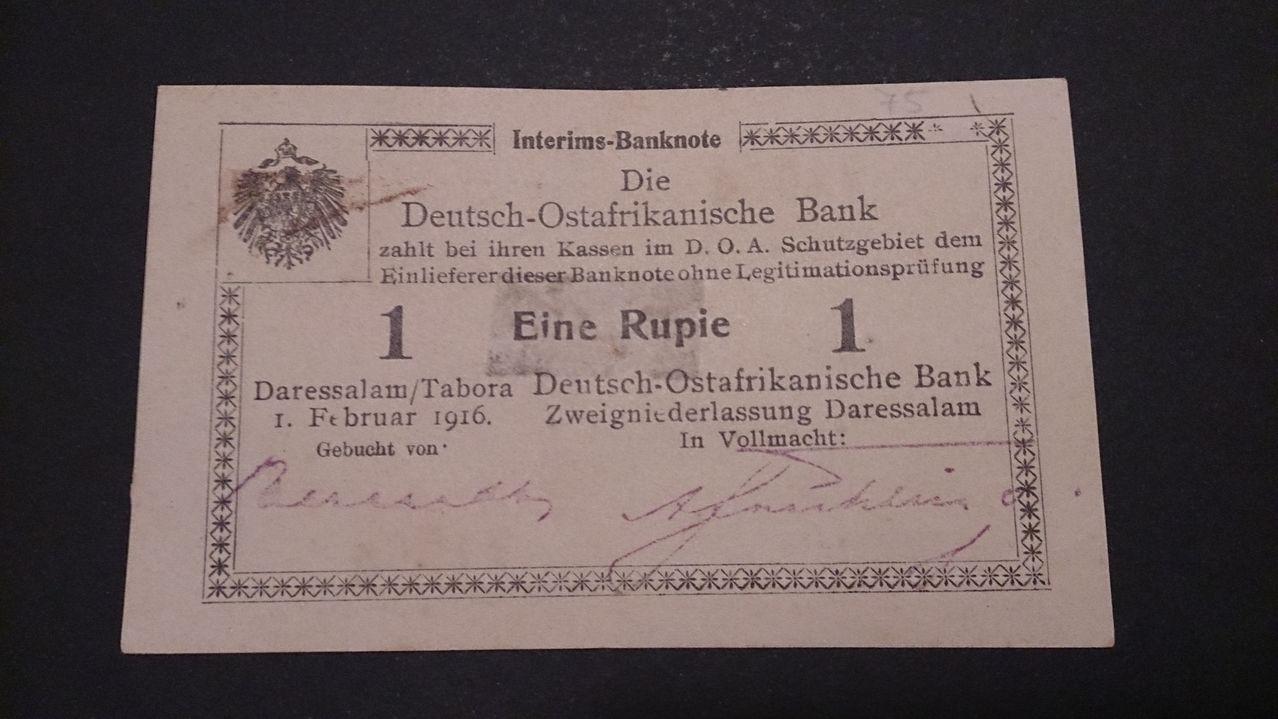 1 Rupie Protectorado Africa Oriental Alemana, 1916 (Tanzania) DSC_0094