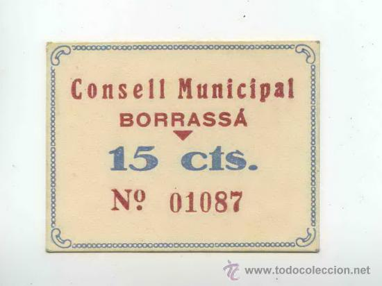 15 Cèntims de Borrassà 30680789