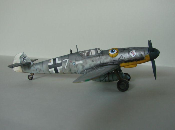 Messerschmitt Bf-109G-6, KP, 1/72 DSC03963