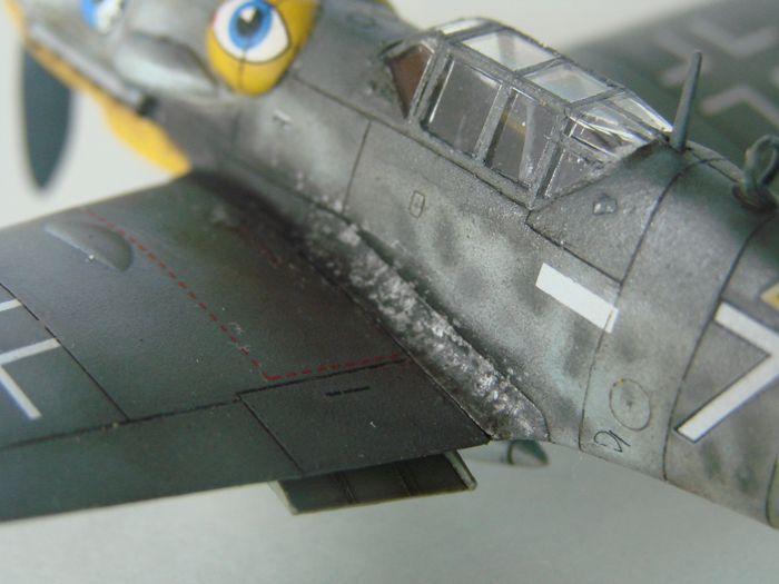 Messerschmitt Bf-109G-6, KP, 1/72 DSC03972