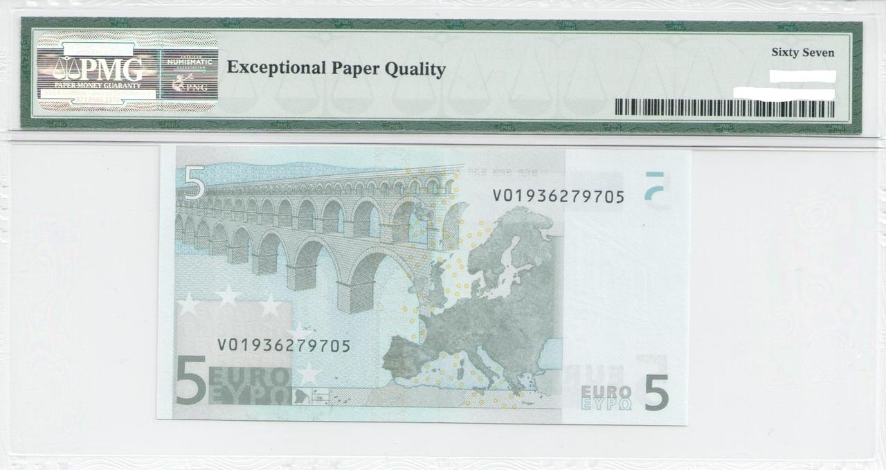 Colección de billetes españoles, sin serie o serie A de Sefcor - Página 3 5_euros_duis_reverso