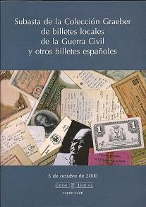 Libro de billetes de la Guerra Civil de Kenneth Graeber. As0869